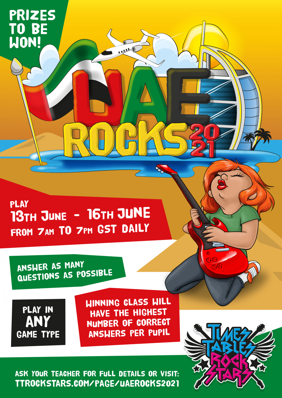 Download your UAE Rocks 2021 Poster now.