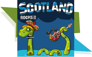 Exclusive Scotland Rocks 2020 Avatar background!