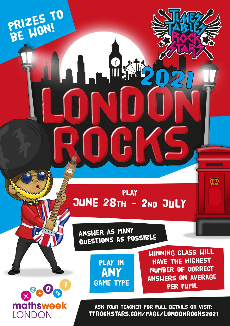 Download your London Rocks 2021 Poster now.