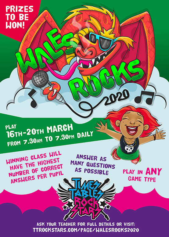 Download your Wales Rocks Poster now.