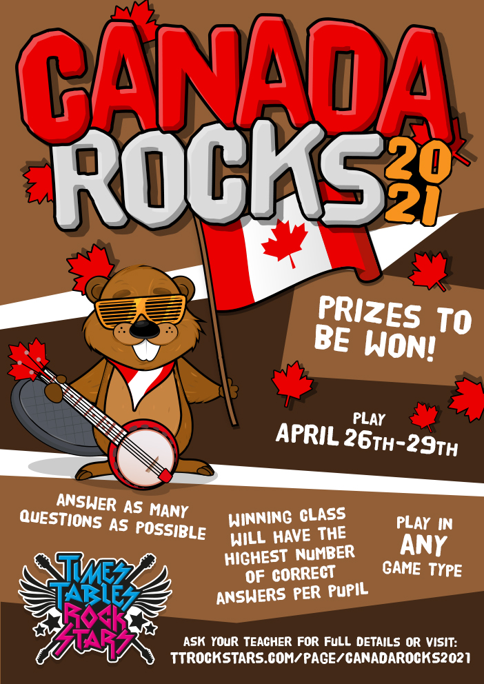 Download your Canada Rocks 2021 Poster now.