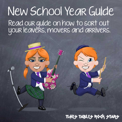 A guide to updating year groups and classes for the new school year.