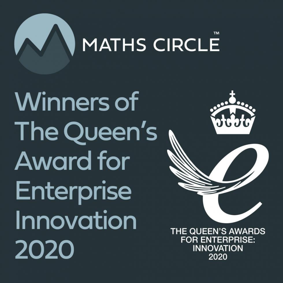 Maths Circle winners of the Queens Award.