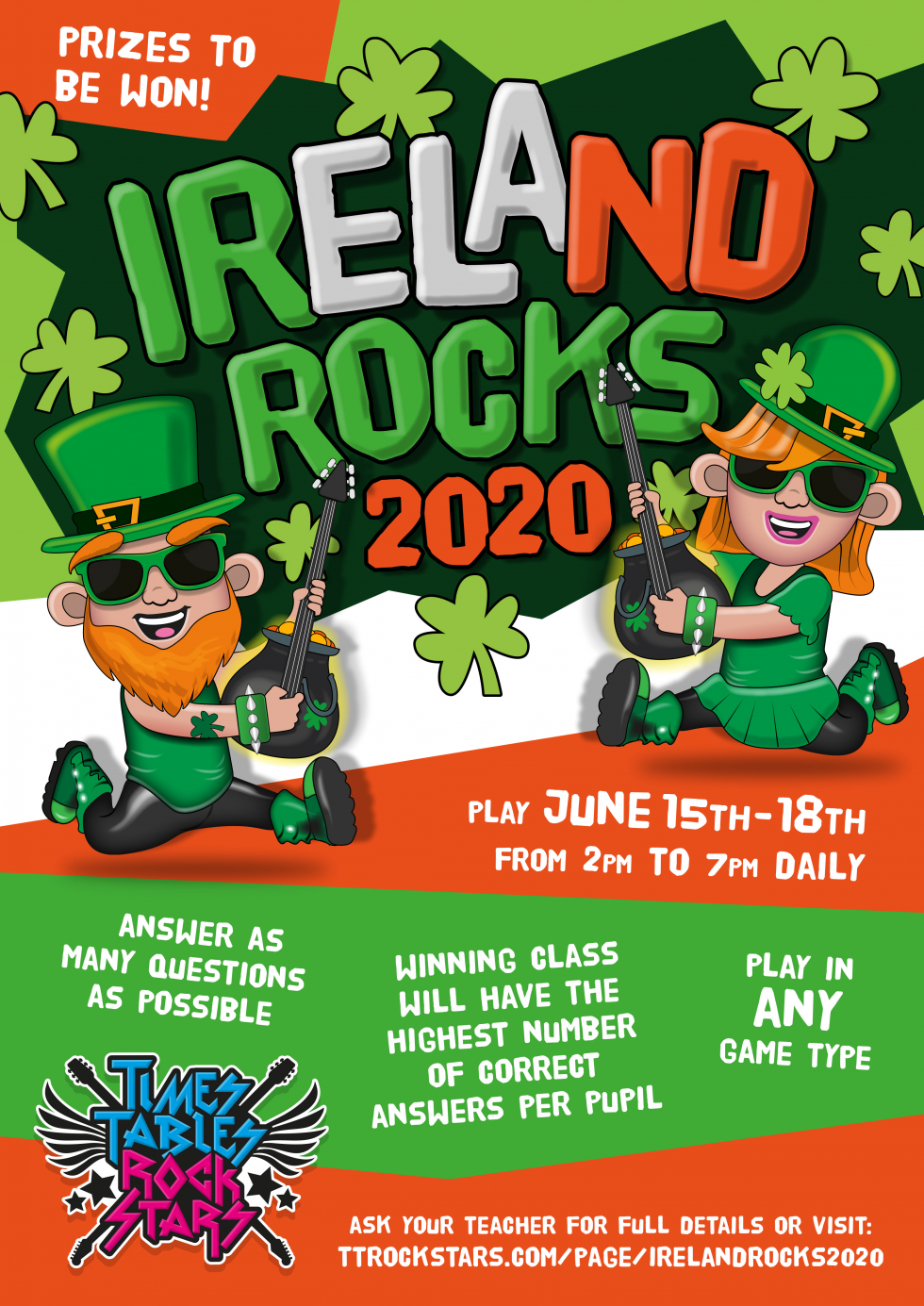 Download your Ireland Rocks Poster now.