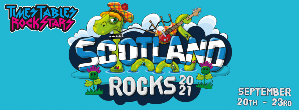 Times Tables Rock Stars Scotland Rocks competition! September 20th to September 23rd