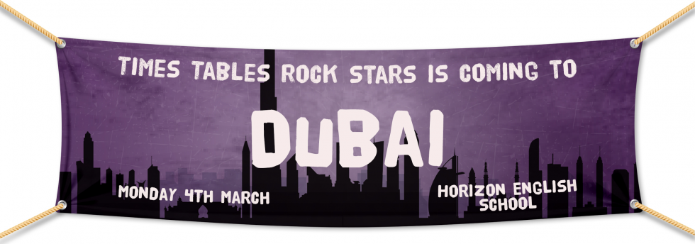Times Tables Rock Stars Rock Wrangle in Dubai 2019! Hosted by Horizon English School on March 4th.