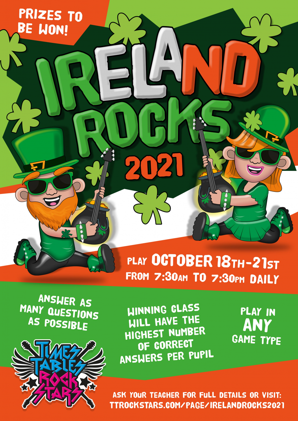 Download your Ireland Rocks 2021 Poster now.