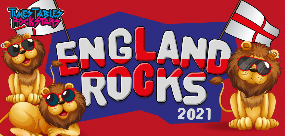 Times Tables Rock Stars celebrates Maths Weeks England with times tables competition 'England Rocks 2021'!