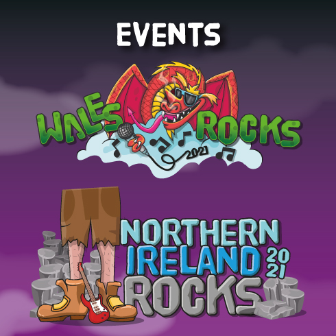Wales Rocks and Northern Ireland Rocks are underway. Find out more about this months events.
