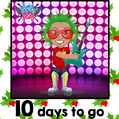 Times Tables Rock Stars Christmas Avatar Advent. Only 10 days left until Christmas