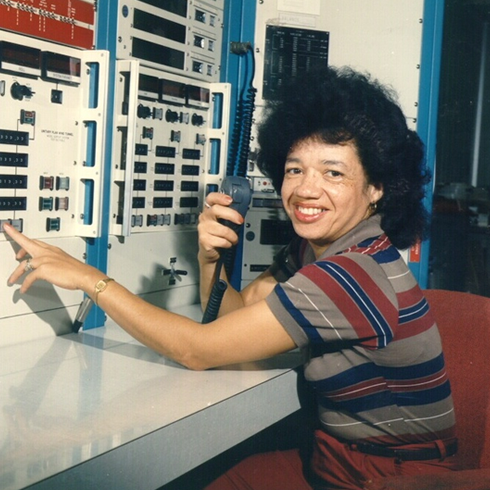Christine Darden working at NASA