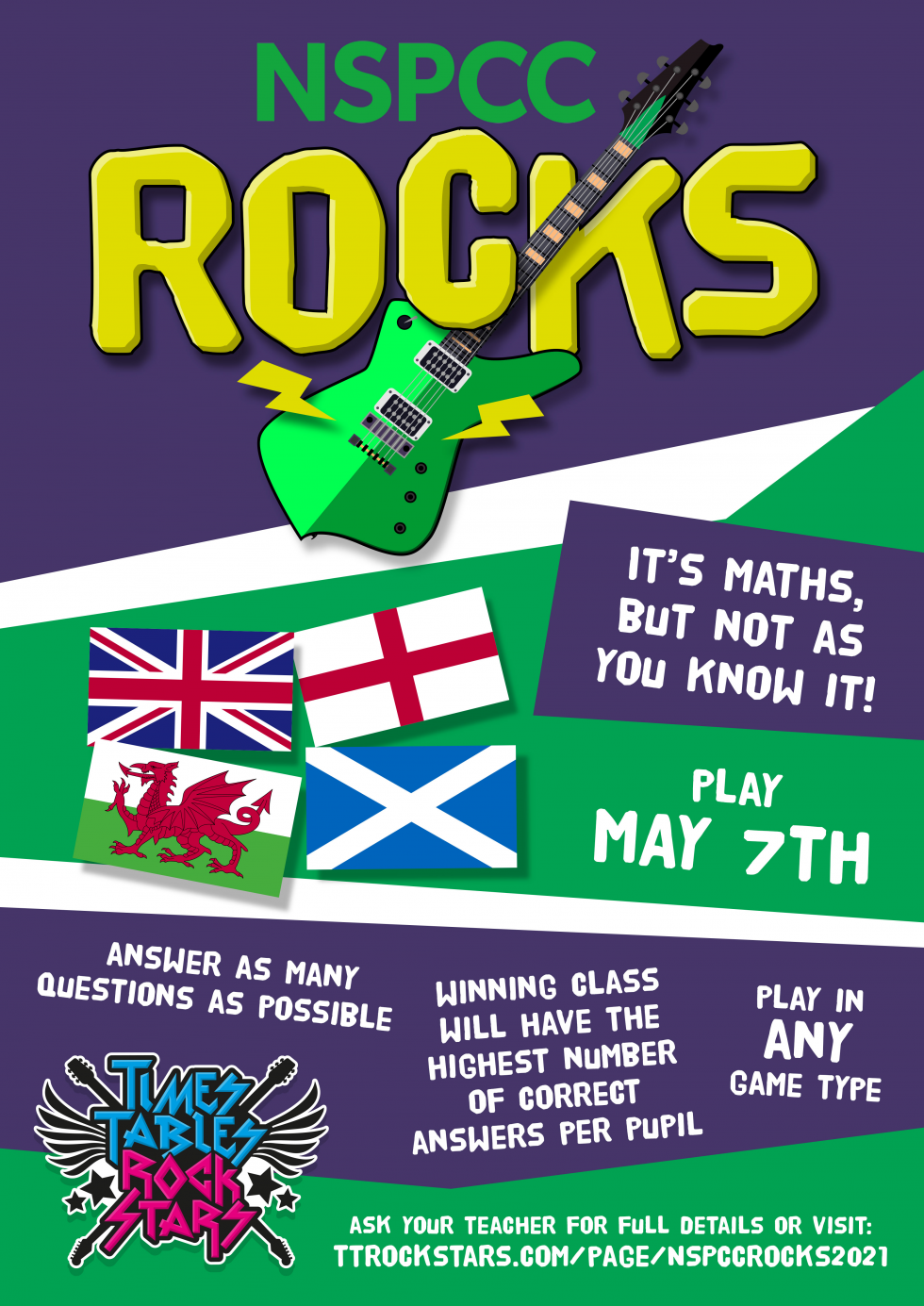 Download your NSPCC Rocks Poster now.
