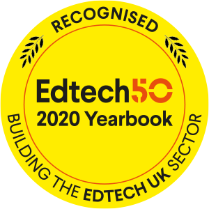 Recognised in the EdTech 50 2020 Yearbook