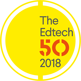Listed in the EDtech top 50