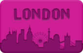 London Skyline button