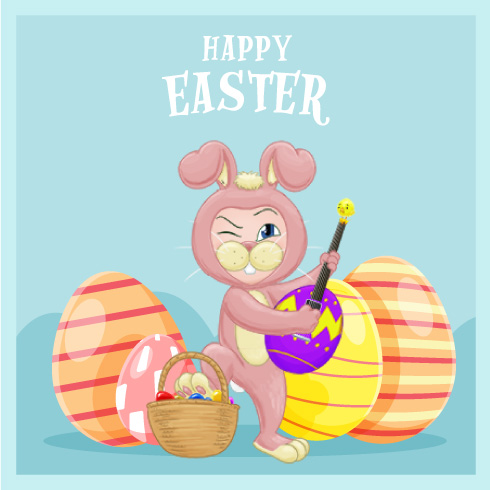 Happy Easter from Times Tables Rock Stars!