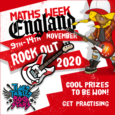Are you a school in England? Come take part in our free England only online maths competition! for Maths Week England!