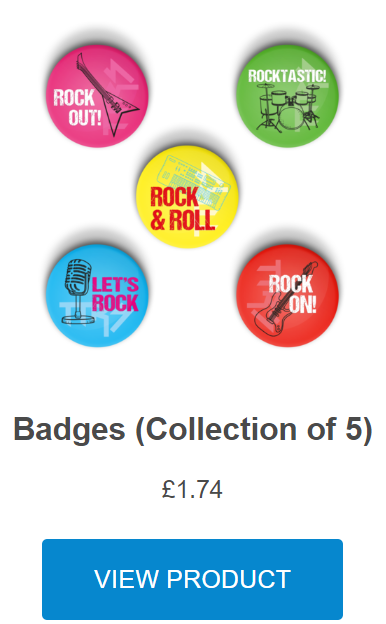 View Times Tables Rock Stars Round Badges in the Reward Shop.