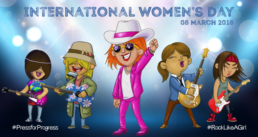 Times Tables Rock Stars for International Womens Day!