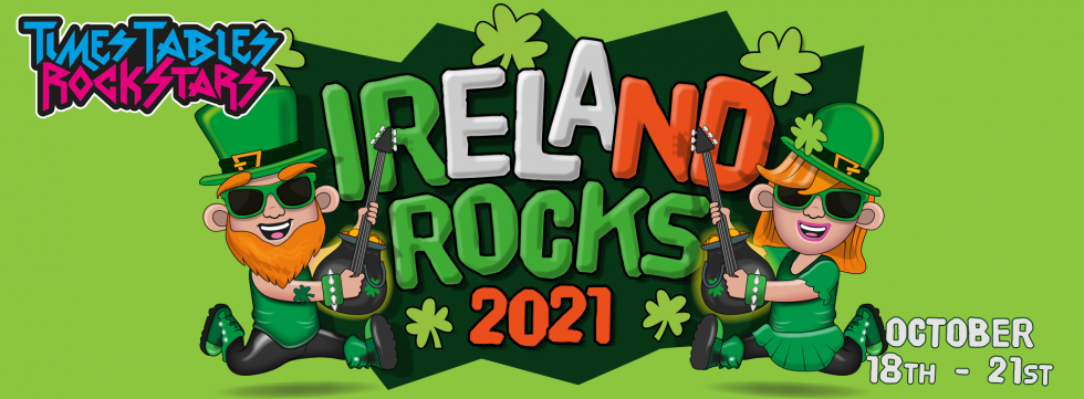 Times Tables Rock Stars Ireland Rocks competition! October 18th to October 21st.
